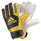 adidas Kinder Classic Junior Torwarthandschuhe, core Black/EQT Yellow s16, 4