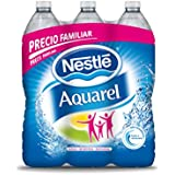 Nestlé Aquarel Agua Mineral Natural - Pack de 6 x 1,5 l - Total: 9 l