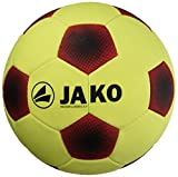 Jako Ball Indoor Classico 3.0-32 Panel, Gelb/Rot/Schwarz, 5, 2336