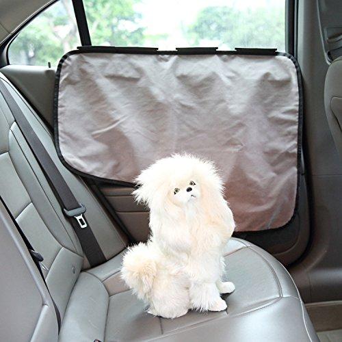 Wasserdichte Haustier-Autotürabdeckung Zwei Optionen zum Installieren-Einsetzen der Tabs oder Stick Die Velcros passen alle Fahrzeuge LNAG , A (Link Cosplay Kostüm Für Verkauf)