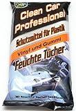 Auto Feuchttücher Feuchte Tücher Schutzmittel für Plastik Autopflege Kunststoff