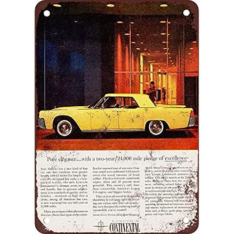 1961 Lincoln Continental look Vintage Riproduzione metal