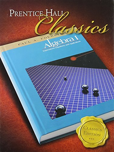 [(Foerster Algebra 1 Student Edition (Classics Edition) 2006c)] [Other Paul Foerster] published on (January, 2007)