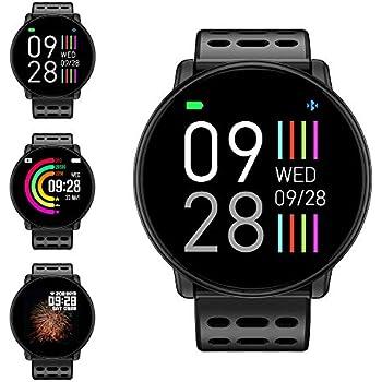 Reloj Inteligente, LIFEBEE Smartwatch Hombre Mujer Pulsera Actividad Inteligente Impermeable 1.3 Pulgadas Pantalla Color Pulsera