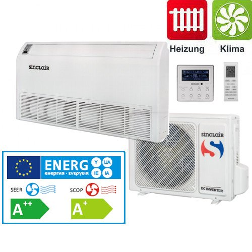 517iQ8ngbEL. SS500  - Split Air Conditioner Chest Air Conditioning ASF-36AIN Sinclair Dc-Inverter 10 Kw