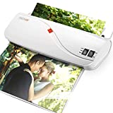 Tacklife MTL01 Laminator, Thermal A4/A5 Laminator 260mm/min Fast Speed, Includes 10 Laminating Pouches