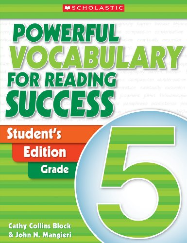 Powerful Vocabulary for Reading Success: Student Workbook, Grade 5