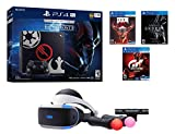 #8: PS4 Sci-Fi Bundle (7 Items): PlayStation 4 Pro 1TB Limited Edition Console with Star Wars: Battlefront II, Doom, Skyrim, Gran Turismo Sport, PSVR Headset, Playstation Camera, and 2 Move Controllers