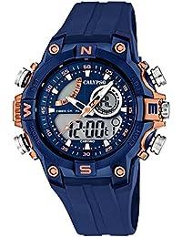 Calypso Señor Reloj de pulsera cuarzo reloj reloj de plástico con Poliuretano banda de alarma Cronógrafo Ana Digi todos los modelos K5586, Calypso referencia: K5586/5Rose Gold