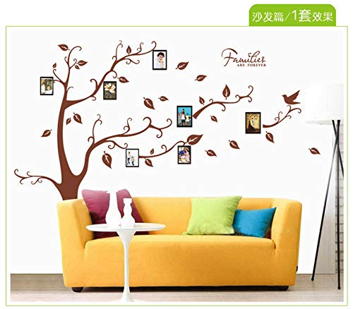 Wandaufkleber palm tree brown leaf foto baum dekoration entfernbare aufkleber 60 * 90 cm -