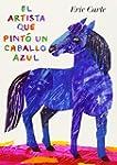 El artista que pint� un caballo azul
