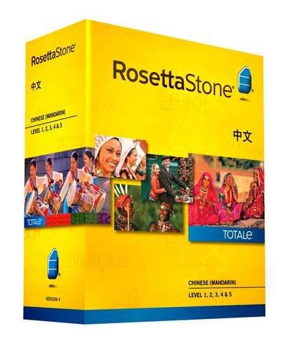 Rosetta Stone, Chinese, Version 4, TOTALe, Level 1, 2, 3, 4 &...