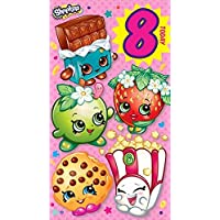 "Shopkins""8th Age 8"" Birthday Card"