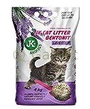 JK CAT LAVENDER Katzenstreu klumpend staubarm Katzen Einstreu Klumpstreu 4,5 kg