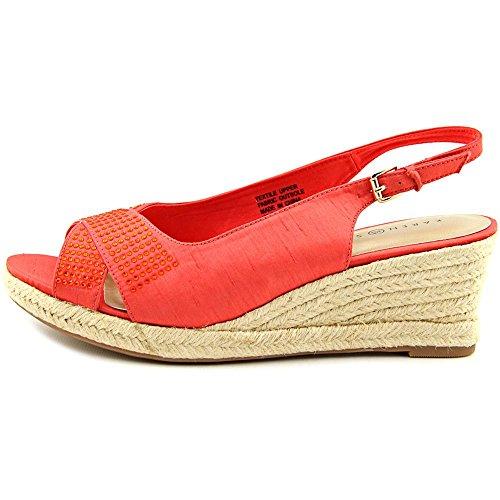 Karen Scott Dotti Damen Textile Keilabsätze Sandale Sherbert