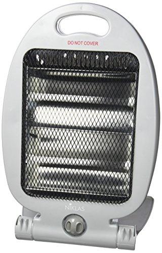Calefactor Eléctrico Kekai Gris 400/800 W 26x20x37