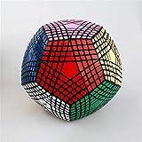 Ysss Cubo mágico Cuadrado de Nueve órdenes Límite Negro de 12 Caras Cubo Negro de 9 órdenes de 5