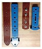 STANZMESSER-SET Für Gürtel, Hundehalsbänder und -leinen usw. aus Leder oder BioThane