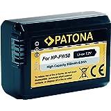 """Bundlestar * Qualitätsakku für Sony NP-FW50 mit Infochip - Intelligentes Akkusystem - 100% kompatibel """"neueste Generation"""" für Sony ILCE QX1 Alpha 5000 5100 6000 Alpha 7 CyberShot DSC RX10 -- Sony NEX-6 NEX-F3 NEX-7 NEX-7B NEX-7C NEX-7K NEX-3 NEX-C3 NEX-3N NEX-5 NEX-5N NEX-5K NEX-5R SLT A55 A33 A35 A37"""