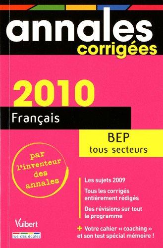 Français BEP Tous secteurs