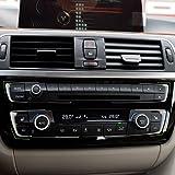 Matt Chrome Dashboard Console Cover Versionpour For BMW 3 4 Series F30 F32 F34 320 420 2013 2014