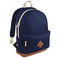BagBase Heritage Backpack French Navy One