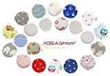 HOBEA-Germany Kirschkernkissen Wärmekissen Körnerkissen für Babys rund in verschiedenen Designs (Bild: Amazon.de)