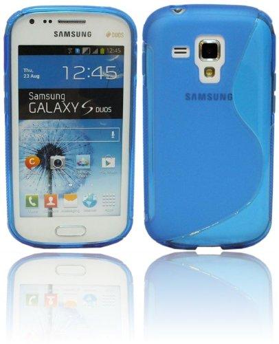 S-Line TPU SchutzHülle für Samsung Galaxy Trend Plus S7580 Silikon Hülle in Blau @ Energmix