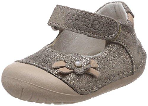 14002 Ballerinas, Grau (Taupe 11), 21 EU (Kind Elf Schuhe)