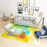 WSX Designer Teppich Nordic Modern Einfachheit Abstrakt Persönlichkeit Geometrie Teppich Mode Couchtisch Schlafsofa Nachttisch Teppich Mit 7 Größen (größe : 200 * 300CM)