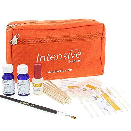 Wimpernwelle Starter-Set von Biosmetics. Umfangreiches Set für die perfekte Wimperndauerwelle
