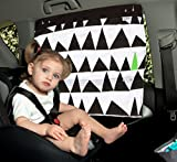 Simply Good Car Sunshade Parasol Infantil Para Coche Tamaño Universal Protección UV 100 % de Algodón