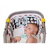 ACMEDE Cute Baby Gallery Infant Kid Crib Pram Gallery Development Puzzle Animal Cloth Book Toy
