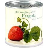 FRAGOLA Fiori in Lattina MACFLOWERS made in Germany cm 7,5x8 h. Stappa, annaffia e divertiti!