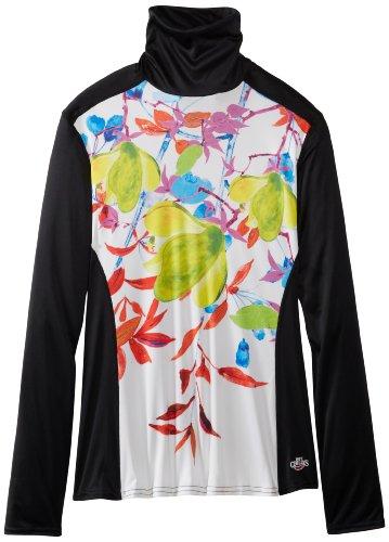 Hot Chillys Damen Unterhemd mit Rollkragen, Pfirsichfarben XS Lucky Fortune/B -