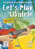 Let's Play Ukulele mit 2 CDs + DVD
