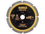 Dewalt DT1473Circular SAEGE Blade PCD 216x 30mm 8Z, 6)