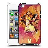 Head Case Designs 8 Im Galopp Jahr des Pferdes Ruckseite Hülle für Apple iPod Touch 4G 4th Gen