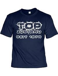 sabuy T-Shirt - Top Zustand Seit 1978 Navy - Geschenk 40. Geburtstag Shirt Jahrgang Spruch Humor Fun