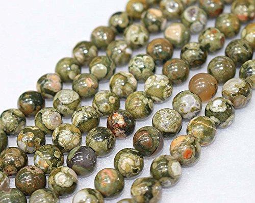 Großhandel von Natur runden, glatten Perlen, 4mm