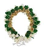 Majik South Indian Classical Bharatnatyam Kuchipudi Dance Flowers Gajra For Girls (Green) Amazon