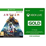 Anthem - Import Anglais - [Xbox One] +  Abonnement Xbox Live Gold 3 mois