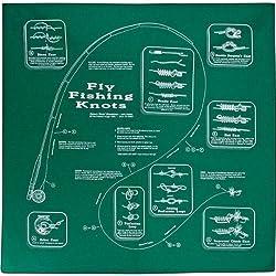 The Printed Image Nature Facts Bandana Fly Fishing Knots