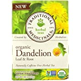 [Sponsored]Traditional Medicinals Organic Dandelion Leaf & Root Herbal Tea (16 Tea Bags)