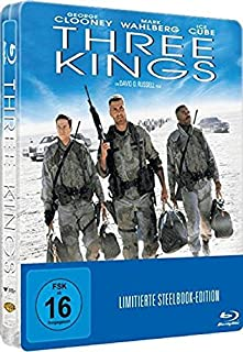 THREE KINGS (Blu-ray Disc, Steelbook) Limited Edition