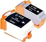 2 Multipack XL Canon BCI-11 Patronen Kompatible. 1 schwarz, 1 color für Canon BJ-30, BJ-35, BJ-35V, BJC-35, BJC-50, BJC-55, BJC-70, BJC-80, BJC-85, BJC-85W, LR1 Print Station, Notejet IIIcx, Apple Color Stylewriter 2200. Tintenpatrone. Tinten kompatible Druckerpatronen. BCI-11-BK , BCI-11-C © Patronenland