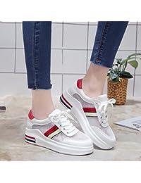 GAOLIM Malla Superior Transpirable Para Una Suave Zapatos Zapatos De Mujer Blanca Gruesa Solo Zapatos Zapatos...