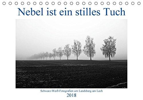 Nebel ist ein stilles Tuch - um Landsberg am Lech (Tischkalender 2018 DIN A5 quer): Schwarz-Weiß-Fotografien von Martina Marten (Monatskalender, 14 ... [Kalender] [Apr 01, 2017] Marten, Martina