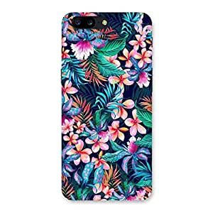Premium HD Quality Floral Pick Back Case Cover for OnePlus 5