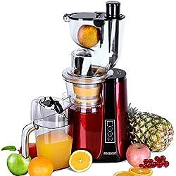 Extracteur de Jus Centrifugeuse Fruits et Legumes Slow juicer Extraction Douce Nutriments préservés
